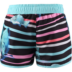 Reima Fidzi Shorts Jóvenes, azul/rosa